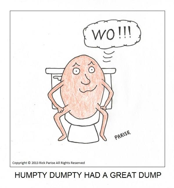 comic about Humpty and his dump