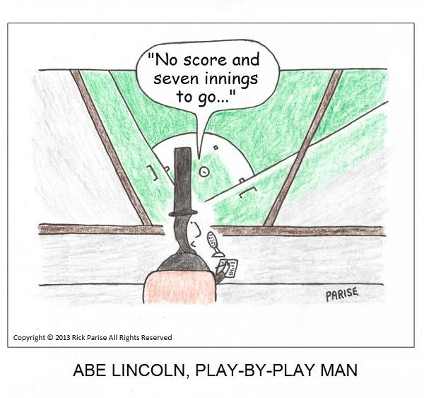 comic about Abe Lincoln history lesson