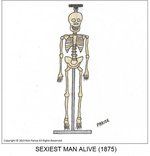comic about hot and sexy skeleton