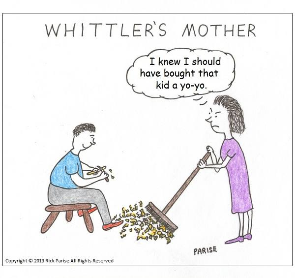 comic about mother's work never done