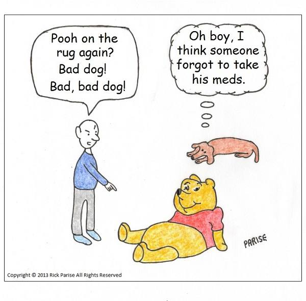 comic about Winnie and Pooh Pooh