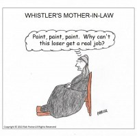 comic about Whistler's mother-in-law