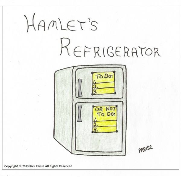 comic about Prince Hamlet's refrigerator