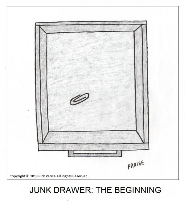 comic about junk drawer chronicle