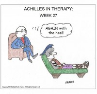 comic about achilles and his therapist